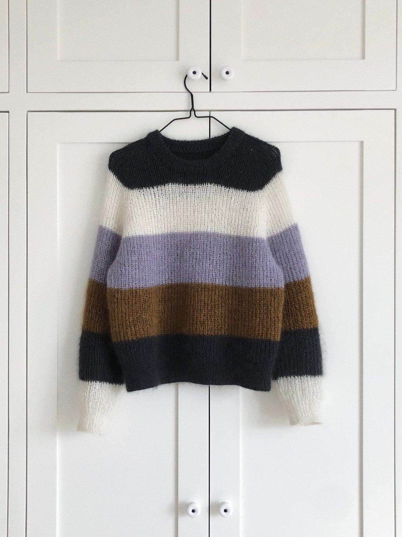 b4f8d32e Sekvens Sweater garnpakke - Fru Kvist