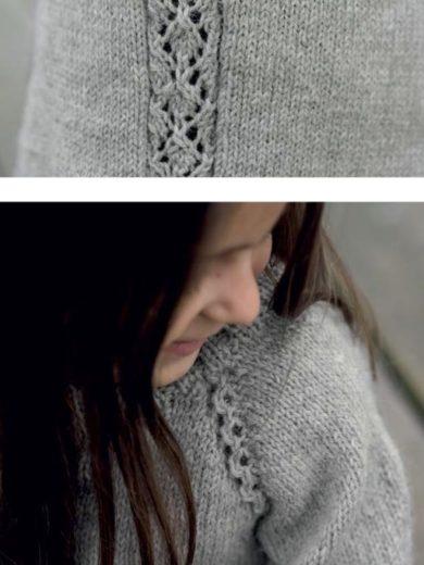 Pure Eco Dale Garn kjole strikk
