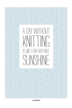 Knitting Sunshine ll