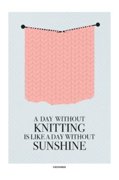 Knitting Sunshine