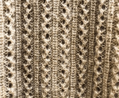 Knitting for Olive Vaffelsweater