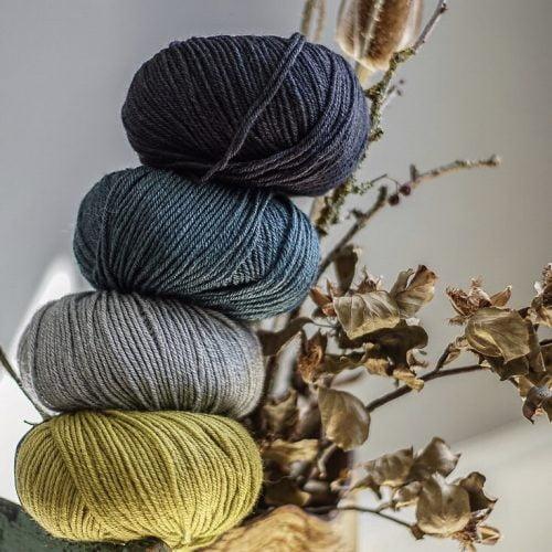 Wild wool silk fra Gepard garn