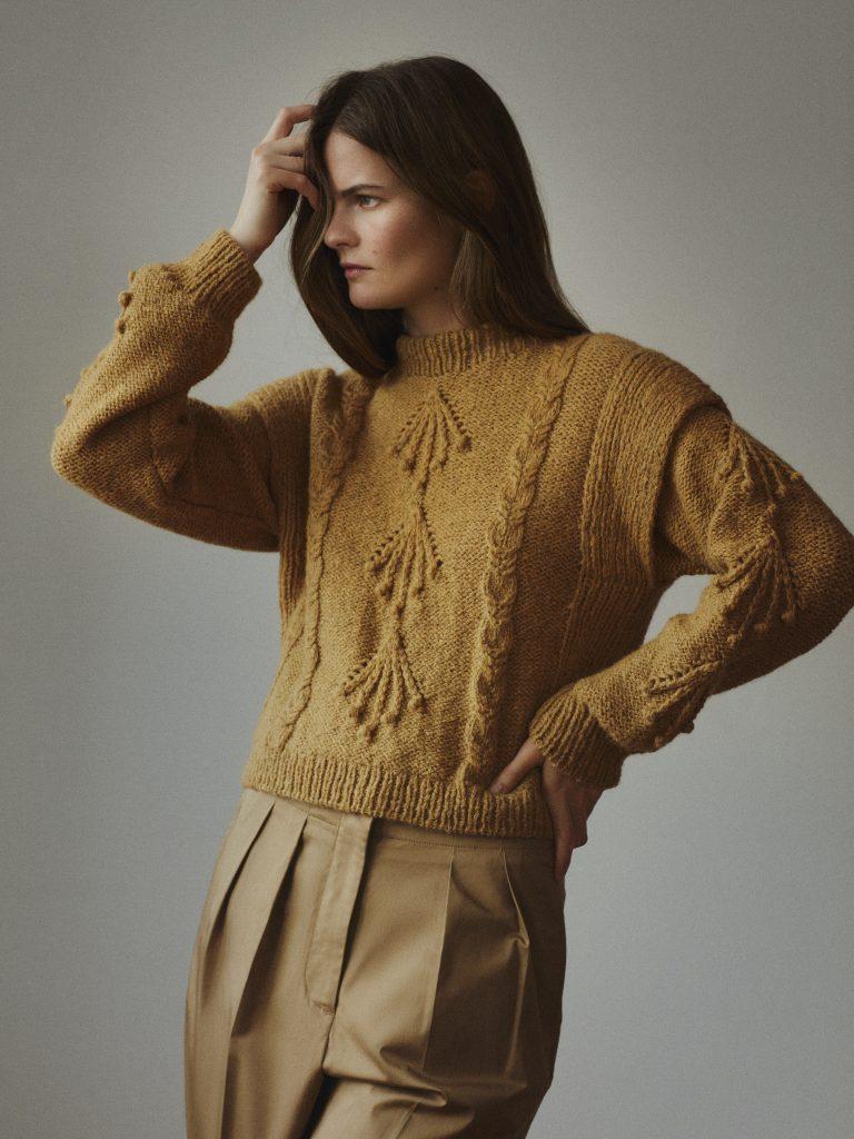 Dagens gratisoppskrift: Nora genser | Baby klær jente