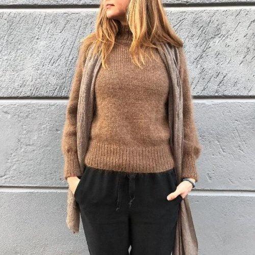 Enkel og enkel genser