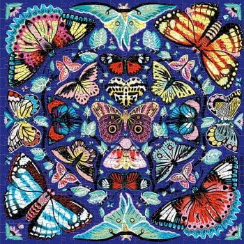 Kaleido-sommerfugl puslespill