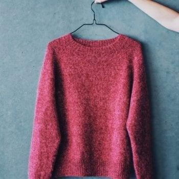Ingendikkedarer - genser strikket i Tilia- og Ainiagarn fra Filcolana