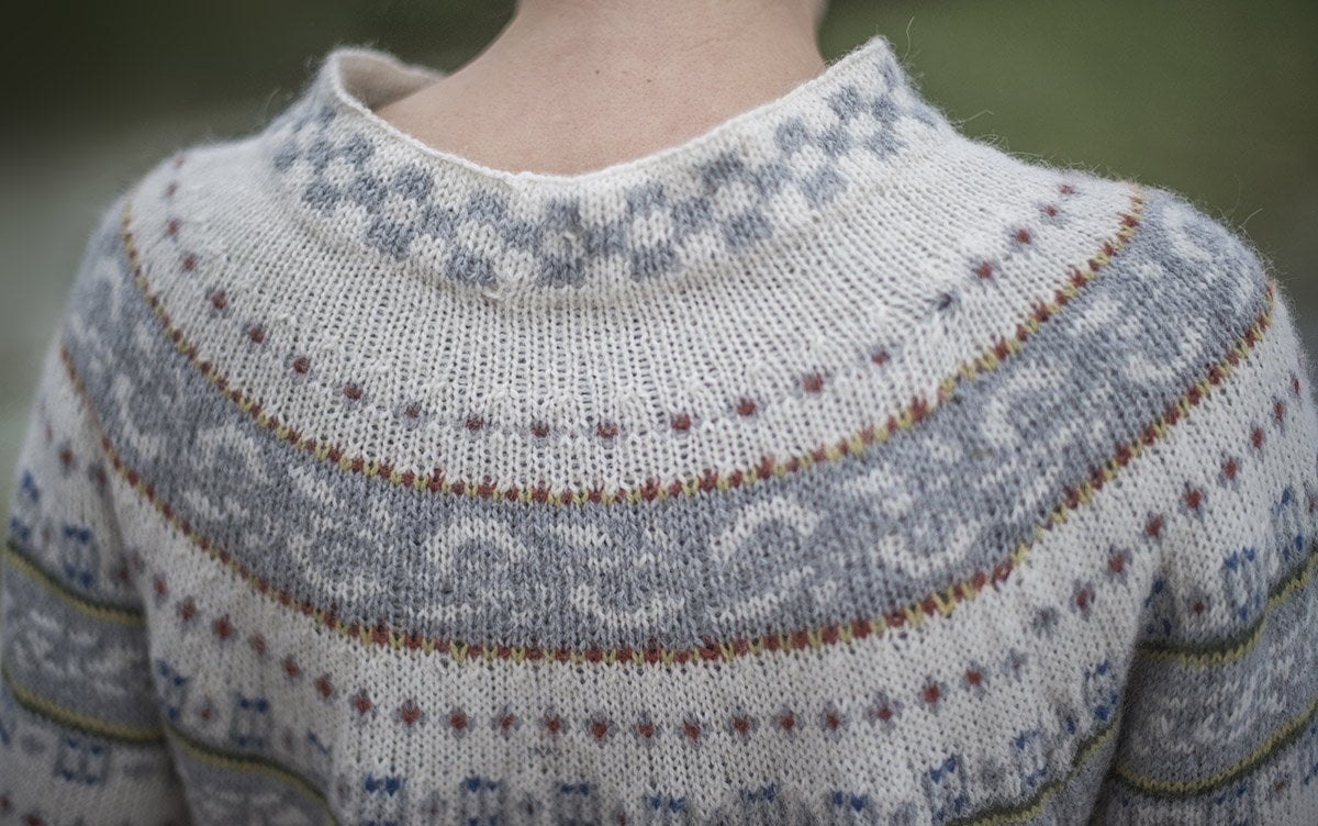 9a636fa2 Vakker genser i silkemyk alpakka! - Fru Kvist