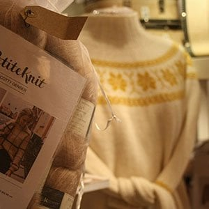Strikkepakker og strikkeoppskrifter