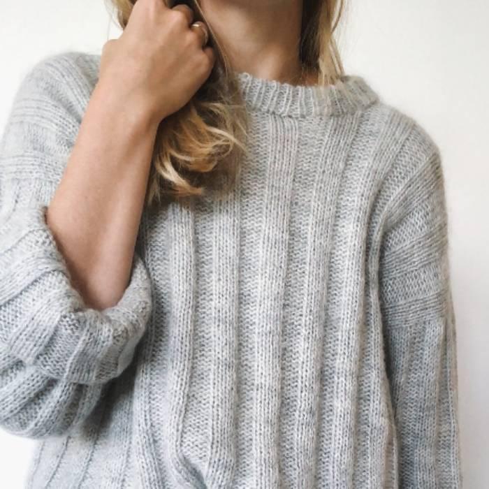 genser brede striper flere farger